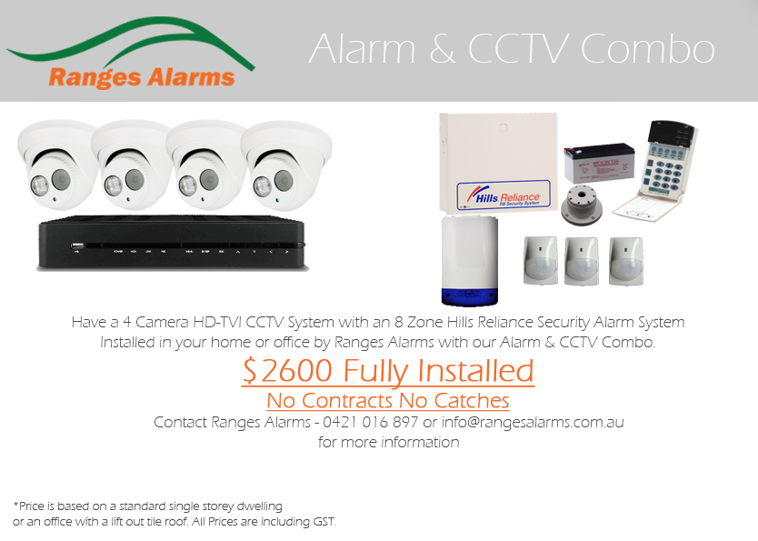 Alarm and CCTV Combo